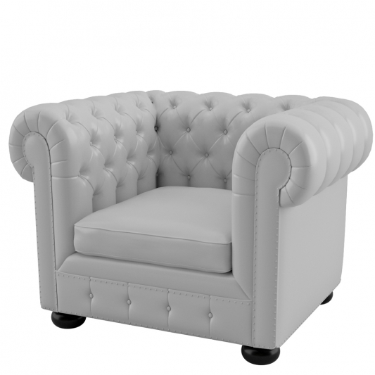 FOTEL CHESTERFIELD       WHITE