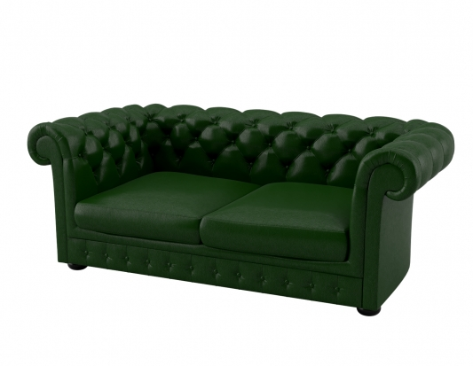 SOFA CHESTERFIELD GREEN